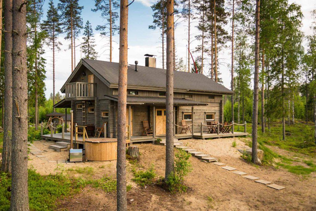 Vuorkamökit Savonlinna